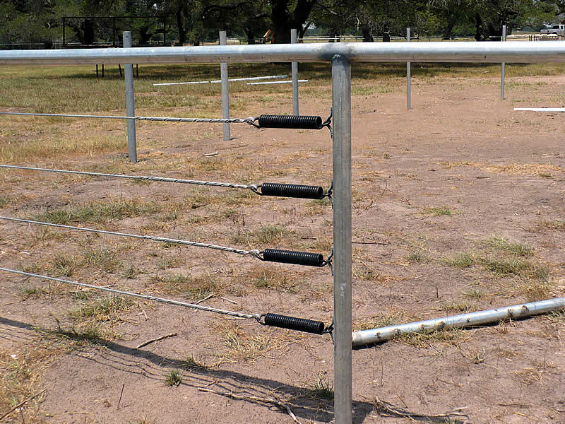 Pipe Fence - J  Mark Threadgill & Company: Fencing Contractor